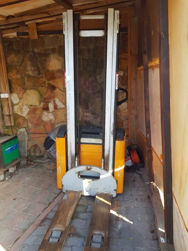 Elektryczny wózek podnośnikowy STILL EGV16 używany 16