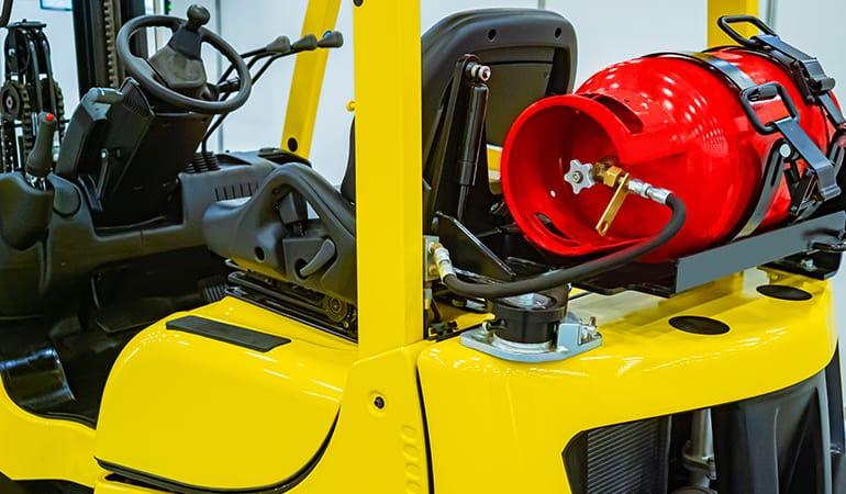 zużycie paliwa w wózkach widłowych